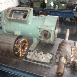 Manutenção de compressores de refrigeração